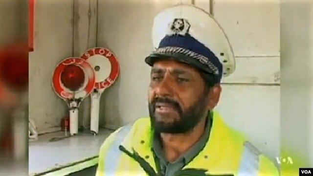 Kabul traffic cop Abdul Saboor Khan