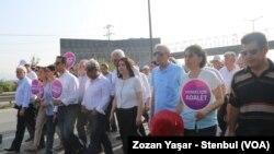 Beşdarbûna Endamên HDP'ê di Meûa Edaletê de