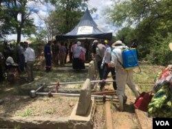 Kubekwa uBekezela Maduma eGwanda. (Photo: Albert Ncube)