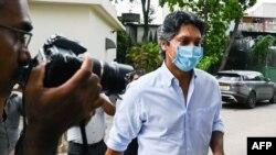 سری لنکن ٹیم کے سابق کپتان کمار سنگاکارا تحقیقاتی ٹیم کے سامنے پیش ہو رہے ہیں۔