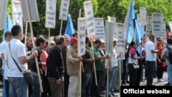 Protestna šetnja Unije slobodnih sindikata (rtcg.me)