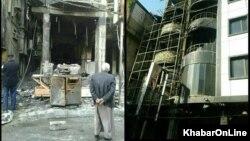Iraq Karbala Hotel fire