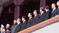 九三阅兵 江泽民现身天安门城楼