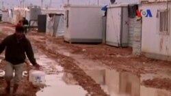 Suriyeli Mülteciler Kışla Mücadele Ediyor
