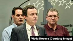 Arhiva - Premijer Kosova Aljbin Kurti