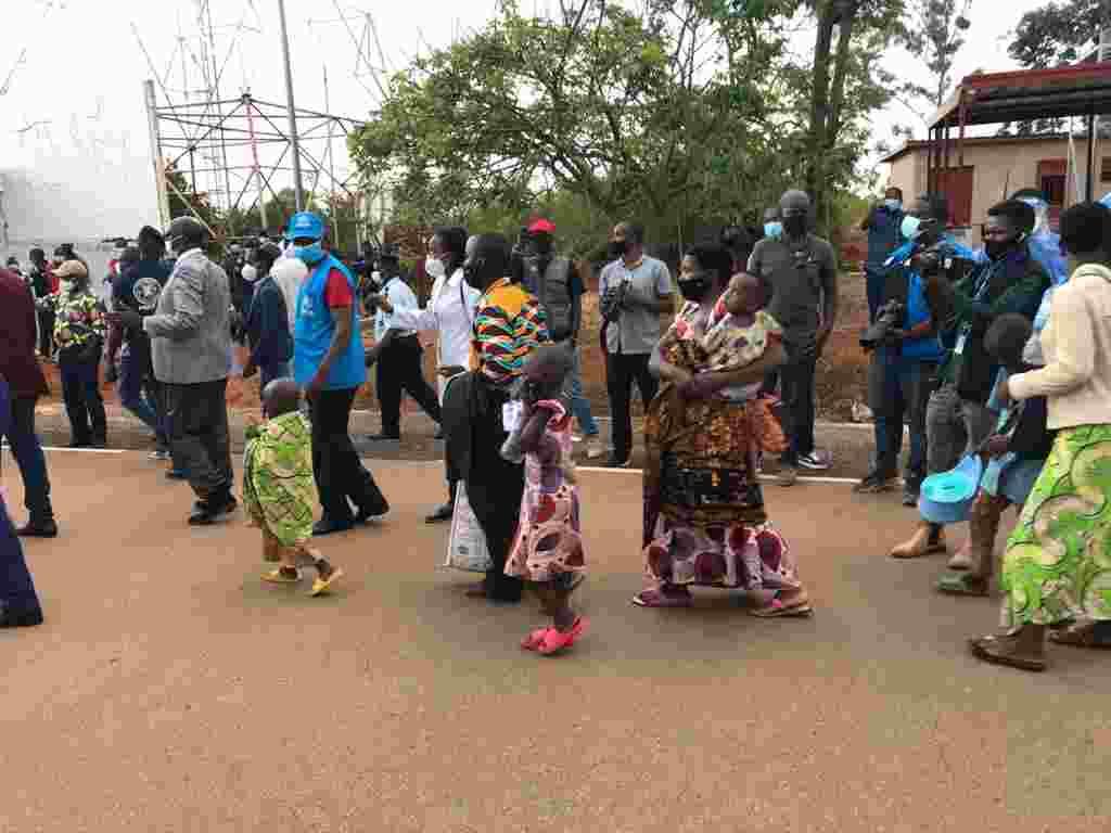 Mahama Refugees