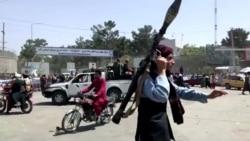 實地報導:塔利班武裝人員在喀布爾街頭持槍巡邏