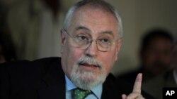Guillermo Aveledo, secretario general de la Mesa de la Unidad, es uno de los opuestos a la mediación de Unasur.