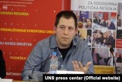 Dušan Spasojević, Fakultet političkih nauka u Beogradu (Foto: UNS press centar)