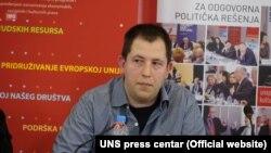Dušan Spasojević, Fakultet političkih nauka u Beogradu, Foto: UNS press centar