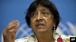 나비 필레이 유엔 인권최고대표 (자료사진).