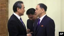 VOA连线(叶兵):王毅访朝见金正恩 北京意在影响半岛和平进程