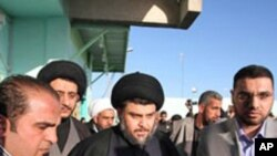 برگشت مقتدی الصدر به عراق