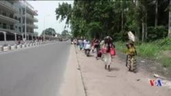 Tirs et incendies dans le sud de Brazzaville, les populations fuient