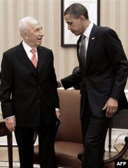 Isroil prezidenti Vashingtonda, G'azo bilan chegarada yana hujumlar