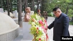 Le leader Kim Jong Un, le 27 juillet 2018.