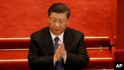 中共領導人習近平。 (資料圖片)
