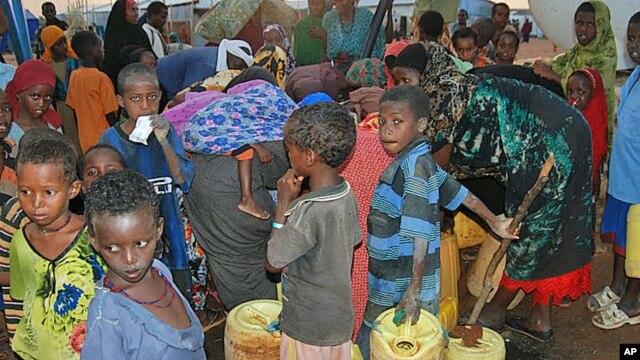 Dollo Ado refugee transit facility in Ethiopia