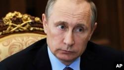 Vladimir Putin, shugaban kasar Rasha