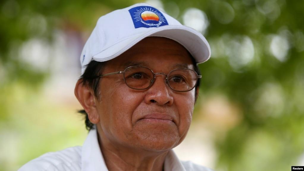 Tư liệu: Ông Kem Sokha, lãnh tụ đảng Cứu quốc Campuchia, 28/5/2017. REUTERS/Samrang Pring