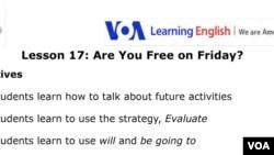 Lesson 17 Lesson Plan