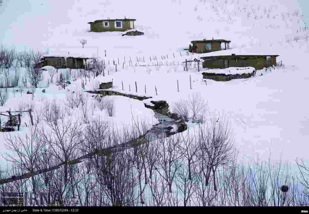 طبیعت زمستانی شهرستان مریوان در استان کردستان عکس: بهمن شهبازی