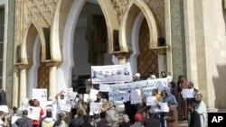 Le Palais de justice de Salé, au Maroc, 27 octobre 2011.
