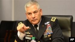 جنرال جان کیمبل وايي چې هیڅ امکان نه لري چې طالبان دې د افغانستان حکومت نسکور کړي.