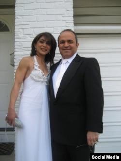 کامی عسگر و همسرش