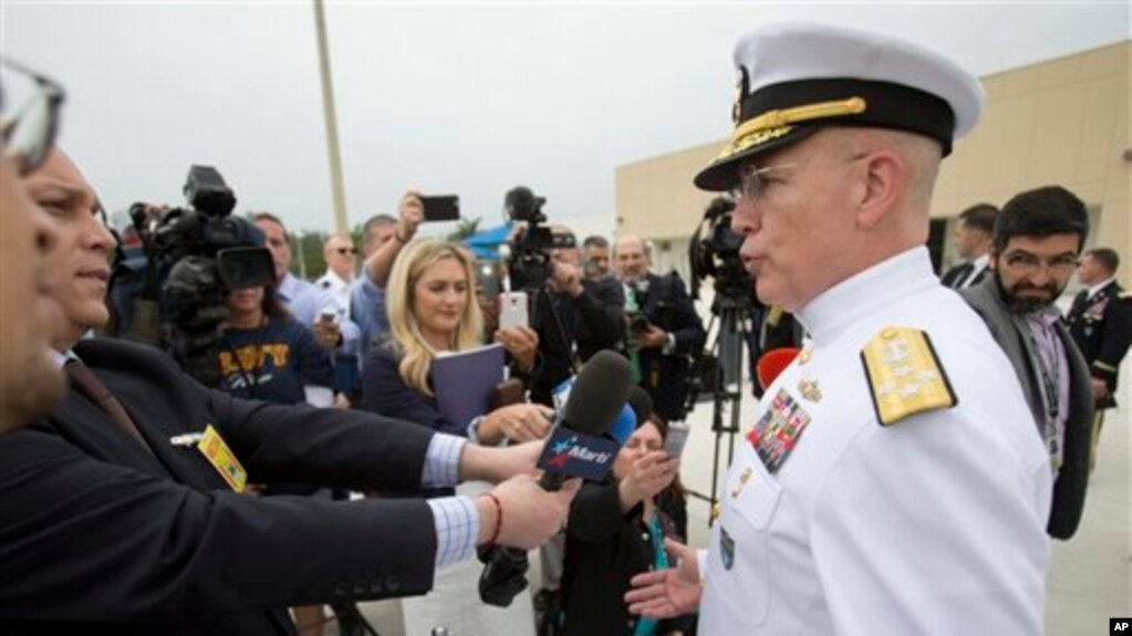 美國南方司令部司令、海軍上將庫爾特·蒂德(資料照)