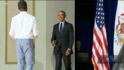 Барак Обама заохочує голосувати за демократів на виборах у Конгрес. Відео