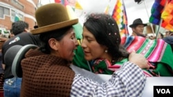 """Representantes del sector privado dijeron que están trabajando en un """"pacto indígena-empresarial"""" para enfrentar la crisis económica que podría afectar a Bolivia."""