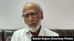 87 سالہ رضوان اللہ نے برِصغیر کی تقسیم کے وقت کے خوں چکاں واقعات بچشم خود دیکھے ہیں