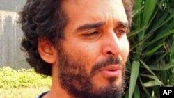 Le rappeur Luaty Beirão, un des 15 détenus de Luanda dont les manifestants demandaient la libération.