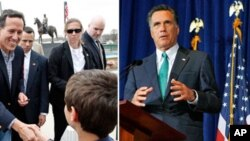 Chapdan, Rik va Santorum va Mitt Romni