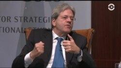 Паоло Джентилони: ни США, ни Евросоюз не должны забывать об украинском кризисе