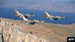 Israeli F-16 fighters