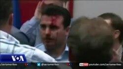 Maqedoni, Marrëveshje për falje për dhunën e prillit 2017 në parlament