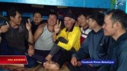 Ngư dân Việt cứu sống 1 người Mỹ trên Biển Đông