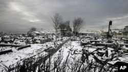Winter Storm Battering Devastated US Northeast