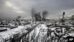 Winter Storm Battering Devastated US Northeast