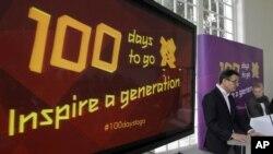 Quedan sólo 100 días para los Juegos Olímpicos de Londres 2012.