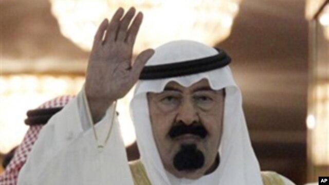 Saudi King Abdullah Bin Abdul Aziz (file photo)