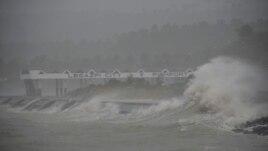 Tajfun i fuqishëm në Filipine
