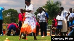 Comprehensive Rehabilitation Services for Uganda (CoRSU) is the first and only center for treating disabled children in Uganda. (Lizabeth Paulat, Nov. 2014)