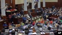 Quốc hội Afghanistan trong phiên họp hôm 7/3/2015.