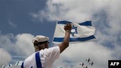 بيانيه کاخ سفيد بمناسبت سالگرد استقلال اسراييل بر ايجاد دوکشور تأکيد داشت