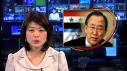 以色列空袭叙利亚后 联合国敦促保持冷静
