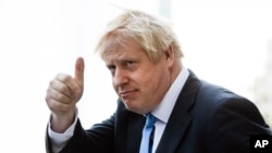Boris Johnson, britanski premijer