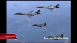 Mỹ cho phi cơ ném bom bay qua bán đảo Triều Tiên